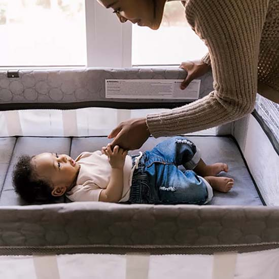 Nôi cho bé - Ingenuity Dream Comfort Smart and Simple Playard - Connolly