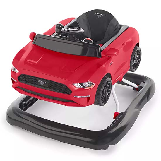 Xe tập đi cho bé - Bright Starts 3 Ways To Play Walker Ford Mustang - Red
