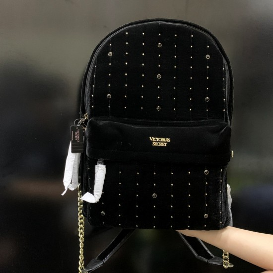 Balo Nữ - Victoria's Secret Velvet Stud City Backpack